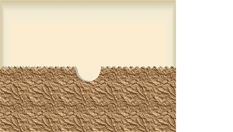 Modèle de conception: Sac en papier