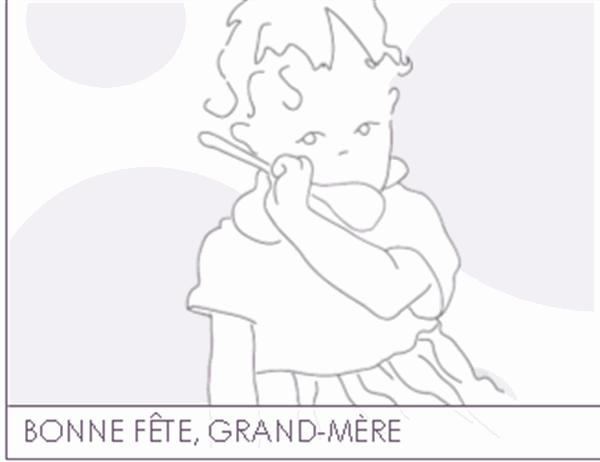 Carte de fête des grands-mères