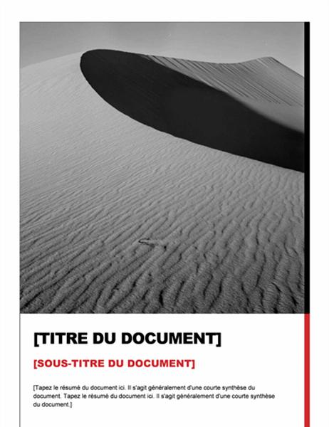 Rapport (création Essentiel)