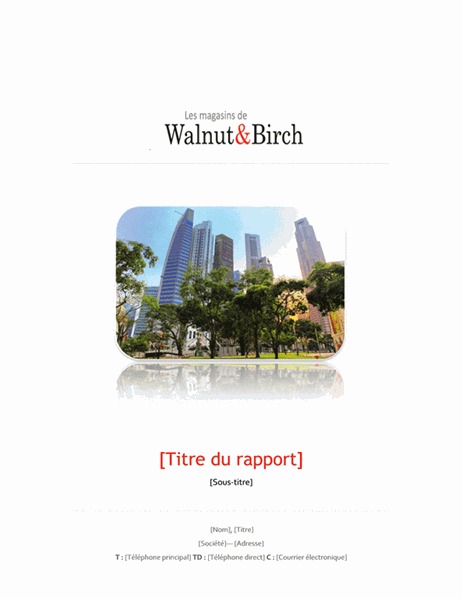 Rapport commercial (6 pages)