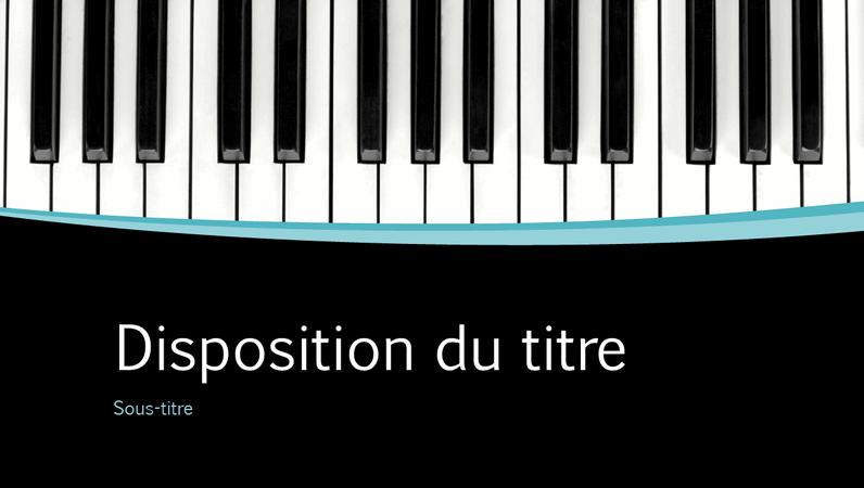 Présentation Courbes musicales (grand écran)