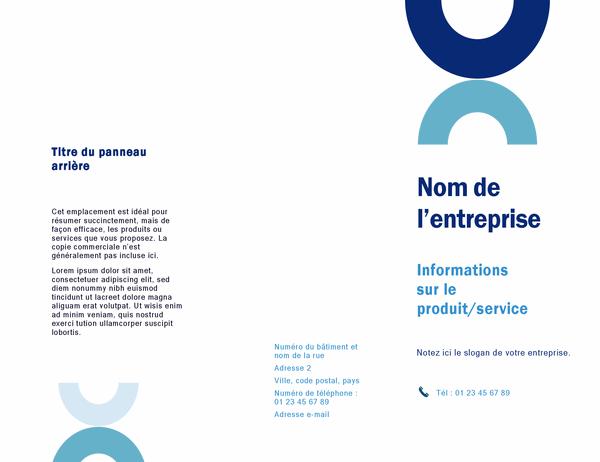 Brochure (style arc)