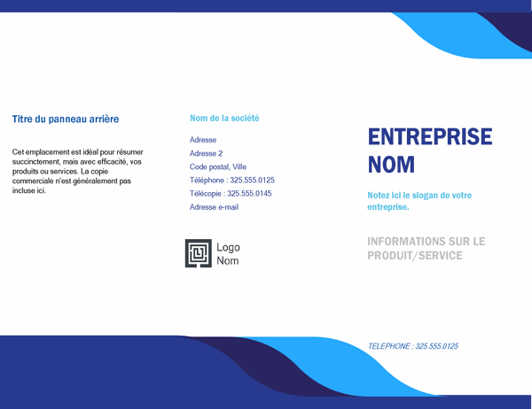 Brochure professionnelle (conception Niveau)