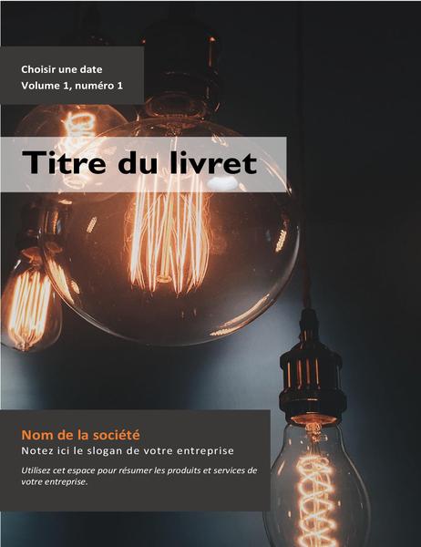 Brochure publicitaire pour un produit ou service