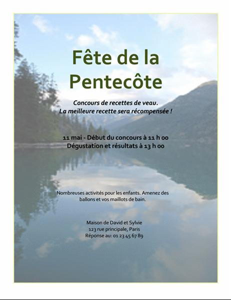 Prospectus Fête de la Pentecôte