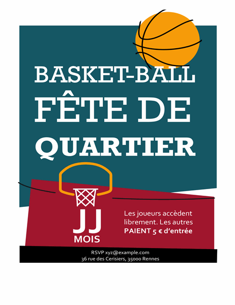 Prospectus de basket-ball