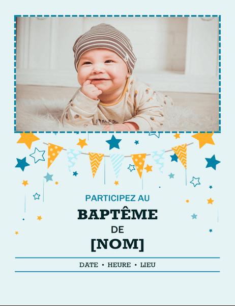 Prospectus de photos de baptême