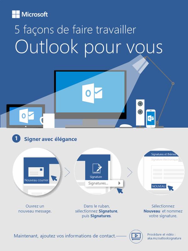 5façons d'optimiser votre utilisation d'Outlook