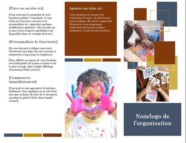 Brochure pour l'éducation