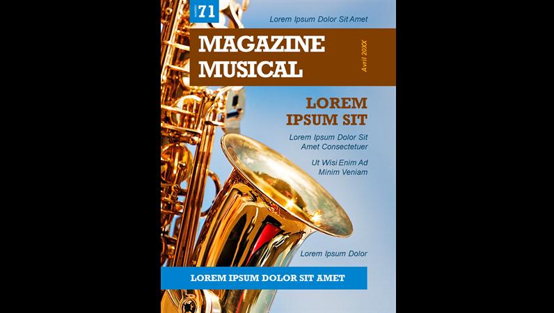 Couvertures de magazines musicaux
