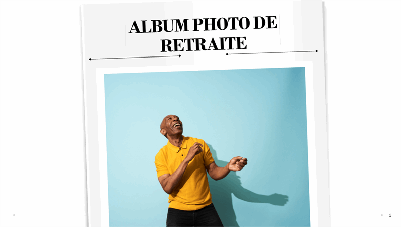 Album photo de retraite