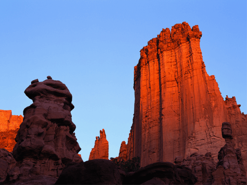 Thème désert - Canyon rouge