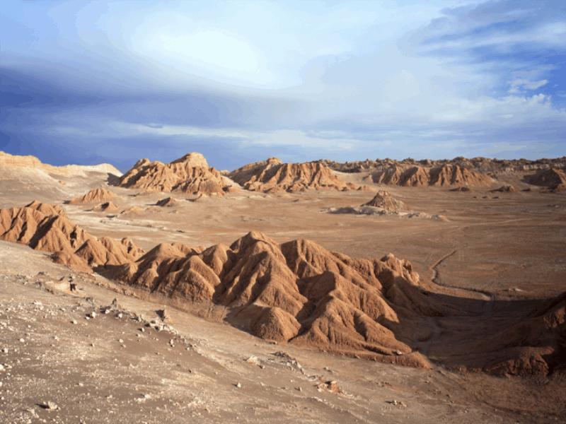 Thème désert - Ocre