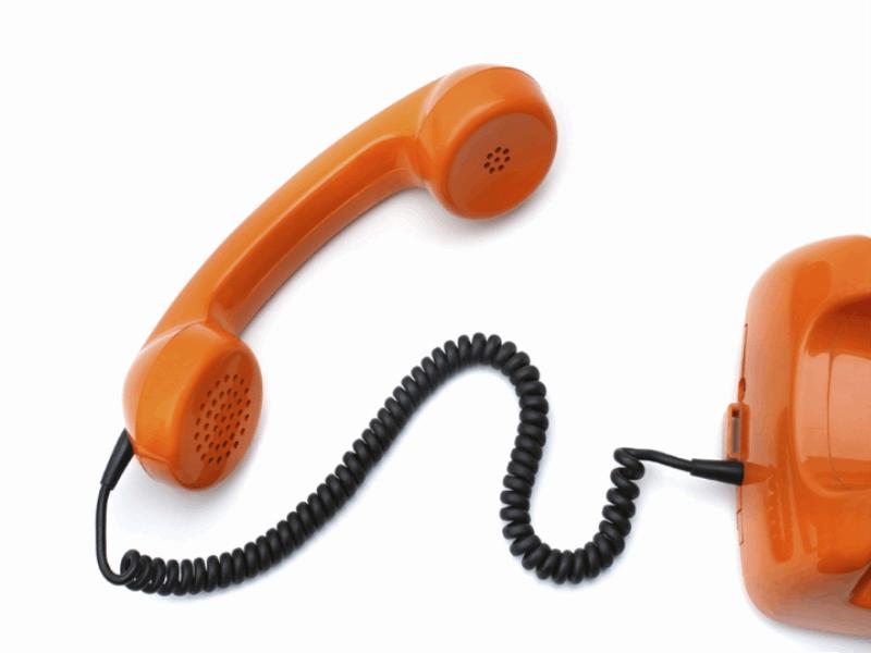 Thème design - Communication téléphone orange