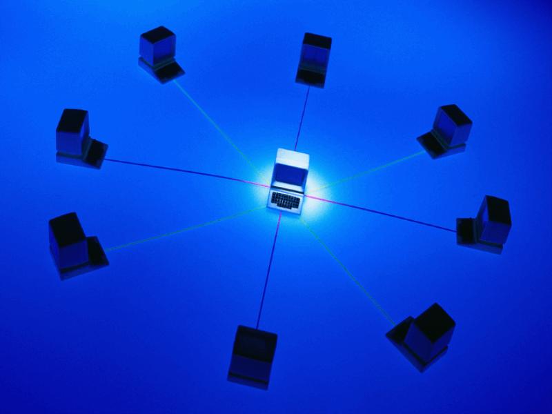 Thème design - Réseau bleu