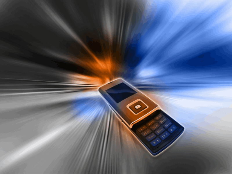 Thème design - Téléphone mobile speed