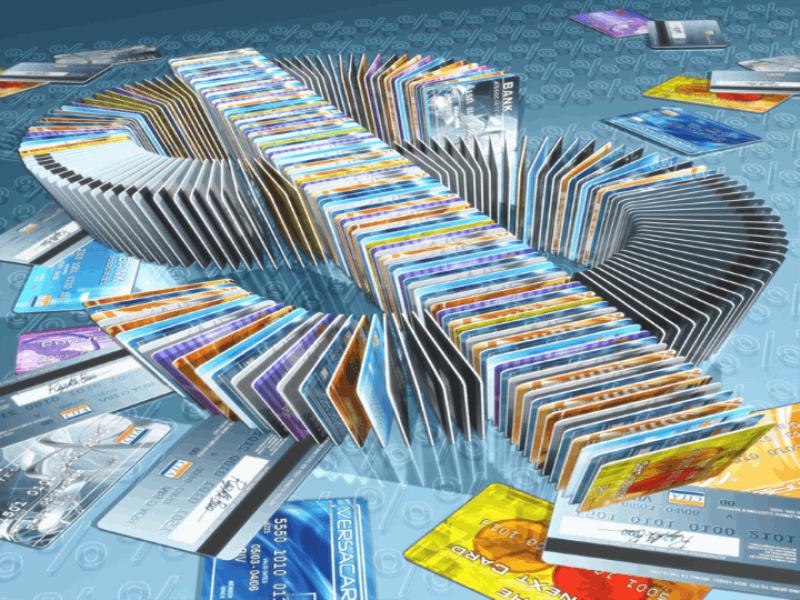 Thème argent - Carte de crédit