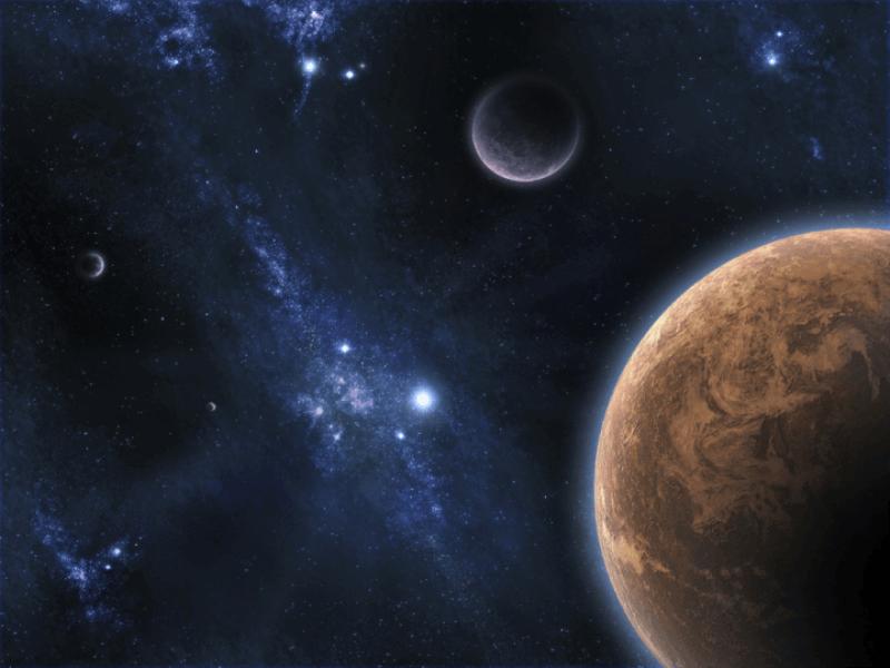 Thème espace - Galaxy
