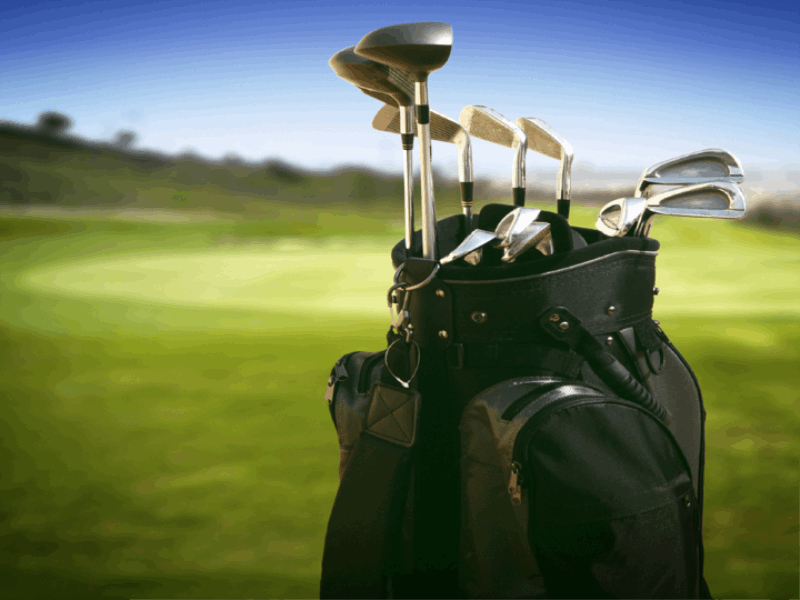 Thème golf - Sac