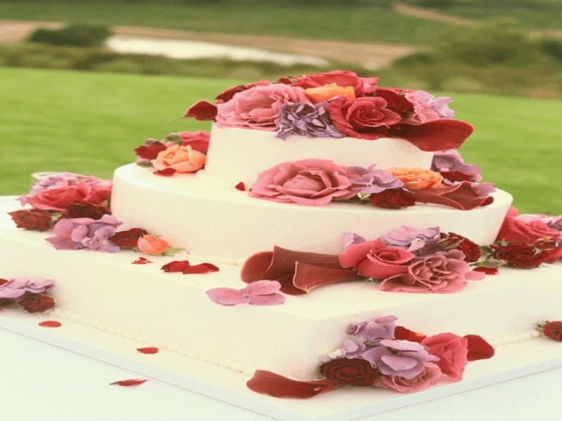 Thème mariage - Pièce montée