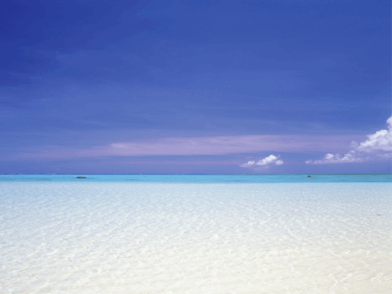 Thème mer - Lagon bleu