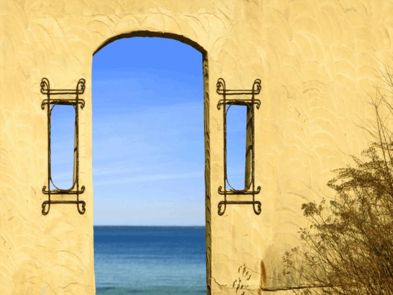 Thème mer - Vue sur la mer