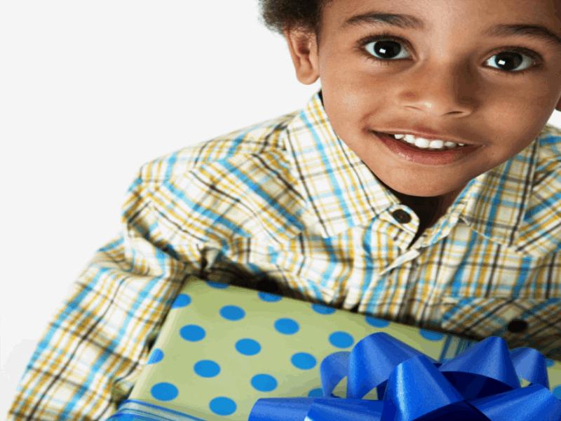 Thème noel - Cadeaux enfant