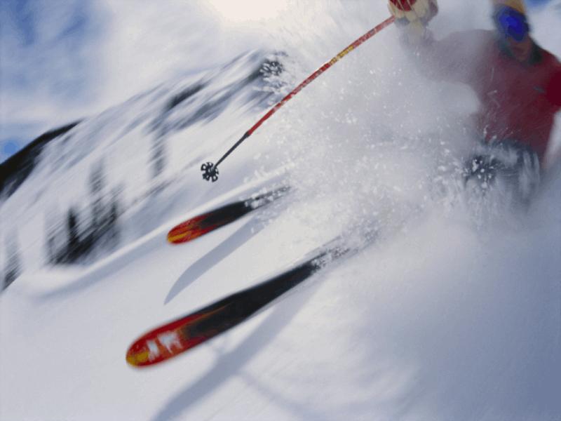 Thème ski - Total poudreuse