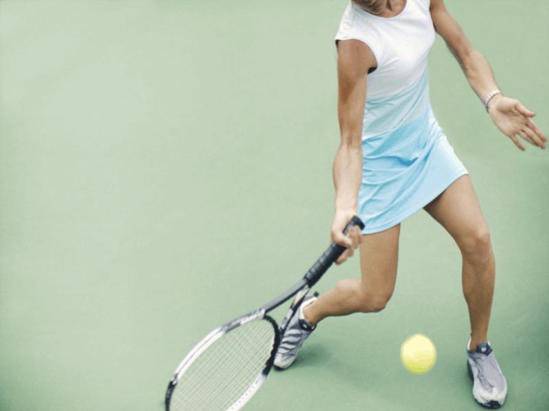 Thème tennis - Coup droit