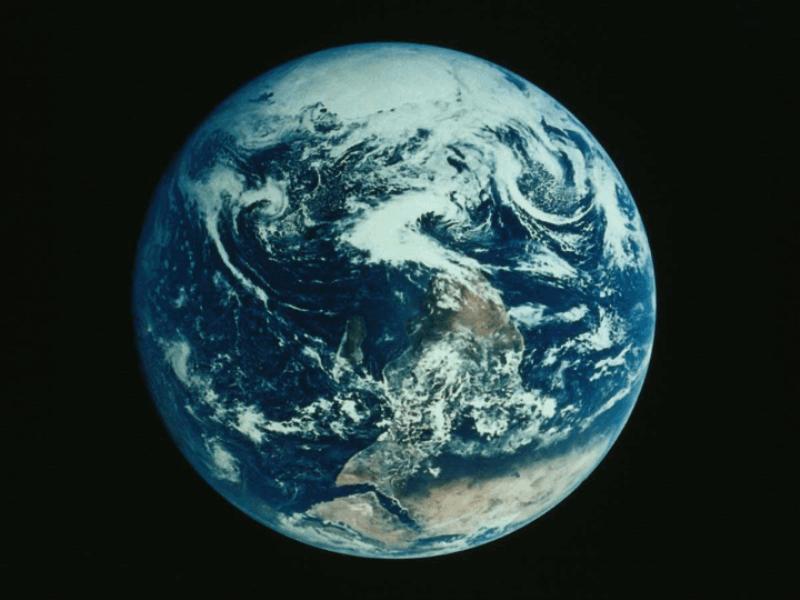 Thème espace - La terre