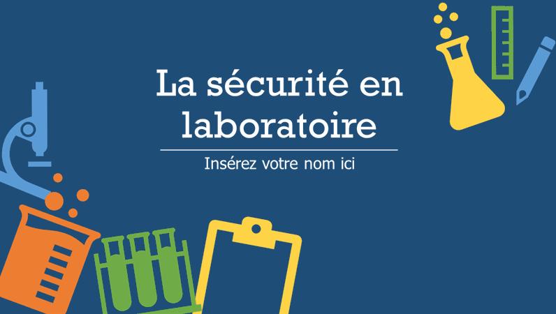 La sécurité en laboratoire