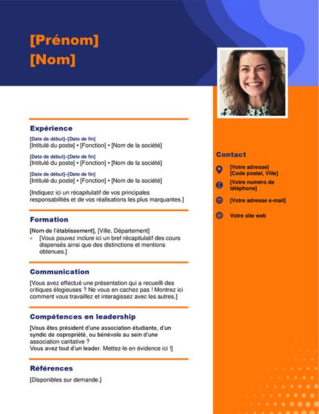 CV portrait