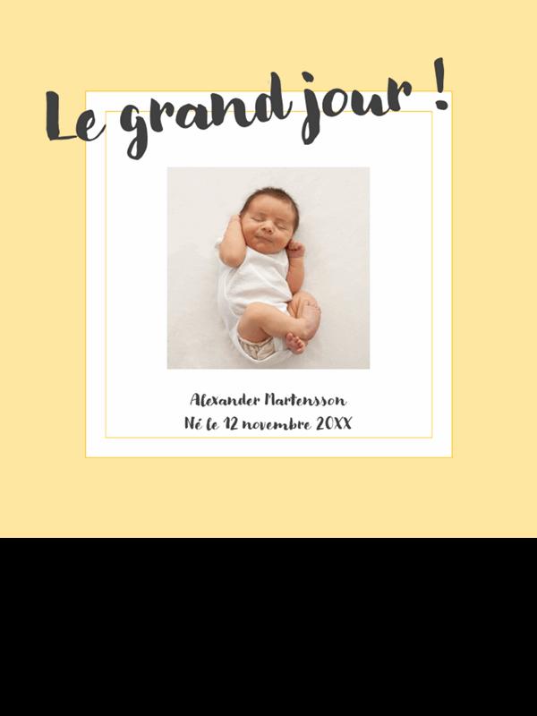 Album photo des étapes de la vie du bébé