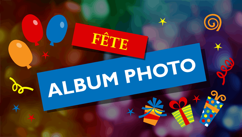Album photo de fête