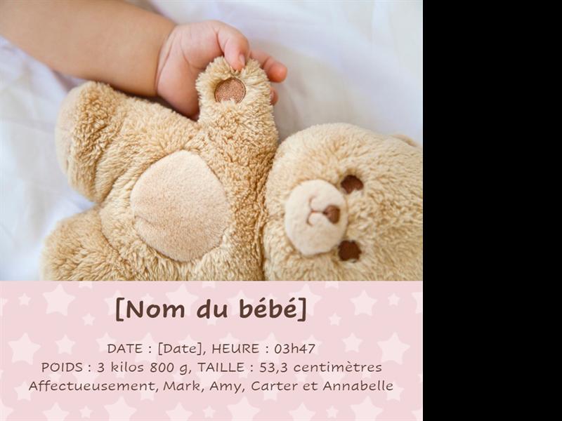 Album photo classique pour bébé