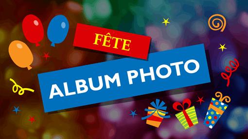 Album photo de fête