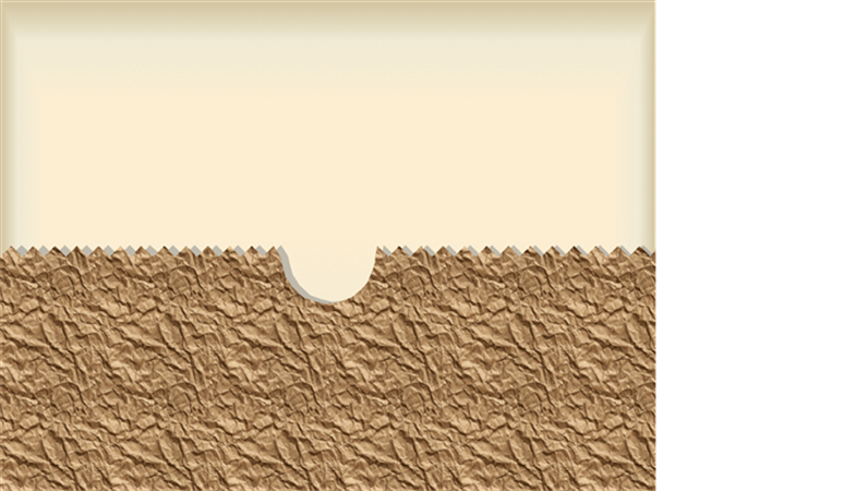 תבנית עיצוב - שקית נייר