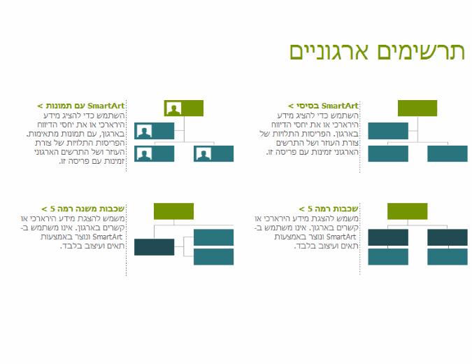 תרשימים ארגוניים (חזותי)