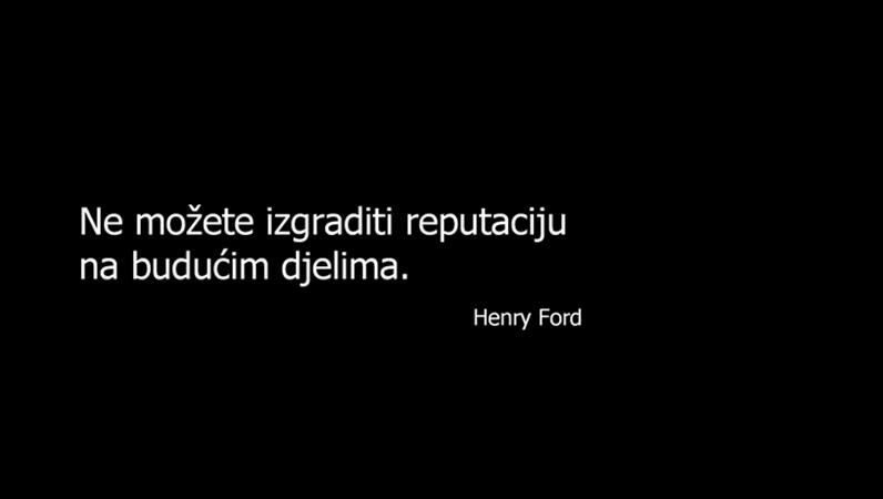 Slajd s citatom Henryja Forda