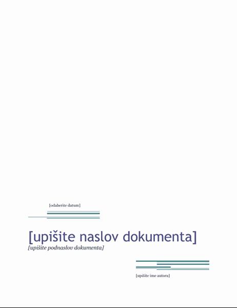 Izvješće (tema Urban)