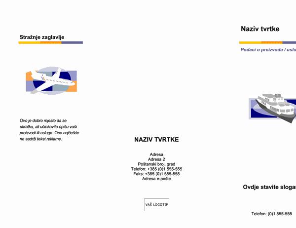 Brošura (više razina)