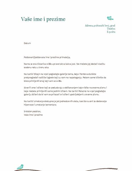 Osobni memorandum