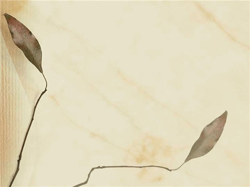 Predložak dizajna s uzorkom suhog lišća