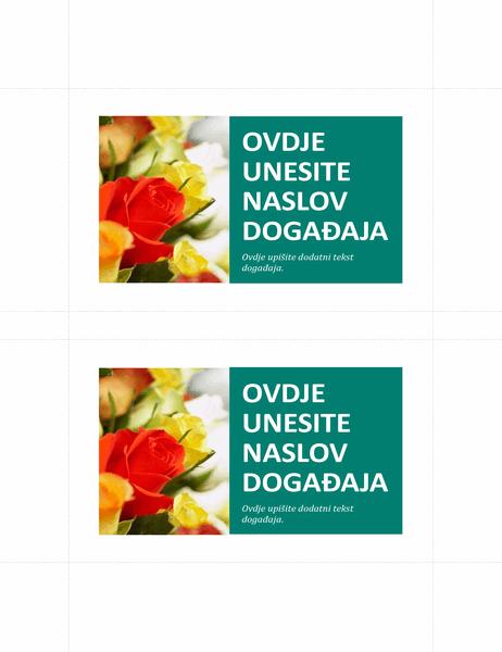 Promotivne razglednice (2 po stranici)