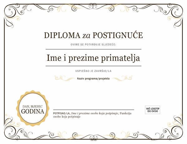 Diploma za postignuće