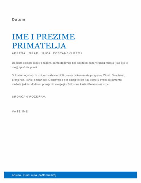 Poslovno pismo