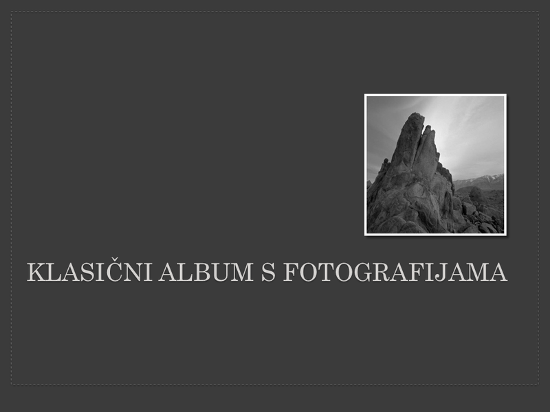 Klasični album s fotografijama