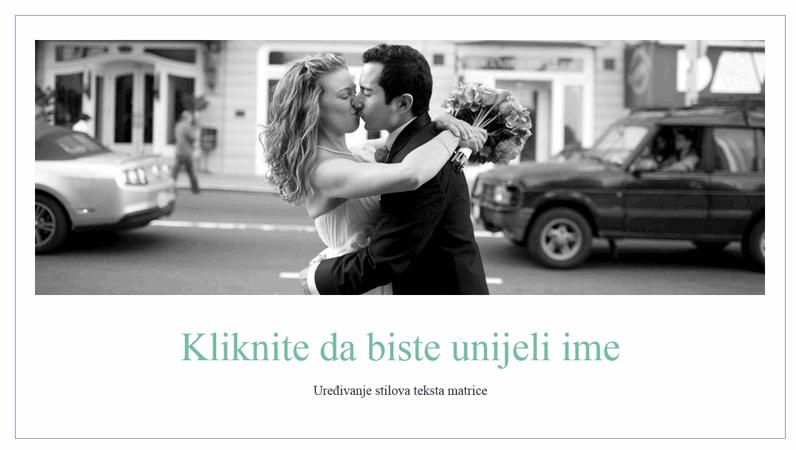 Jednostavni fotoalbum s vjenčanja