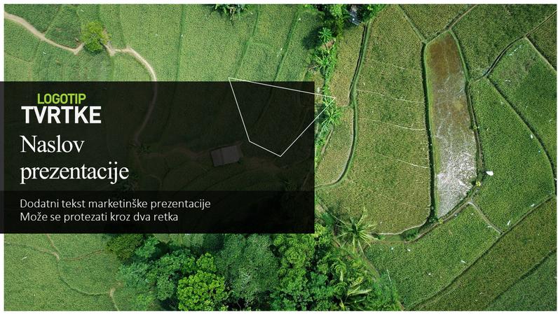 Zelena marketinška prezentacija