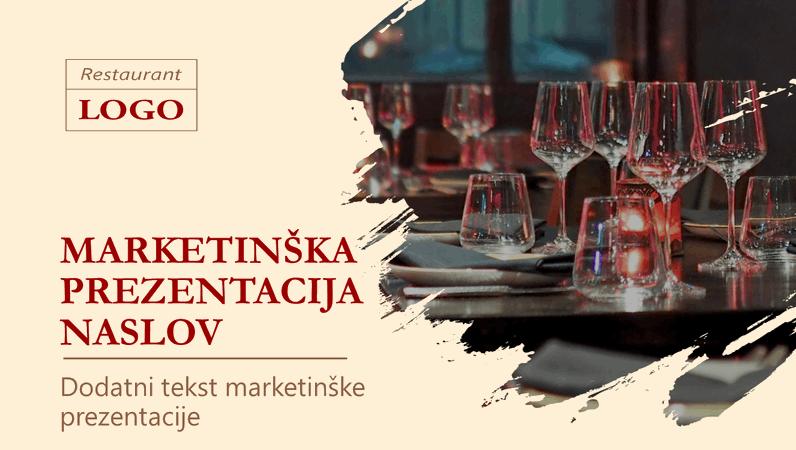 Marketinška prezentacija za restoran